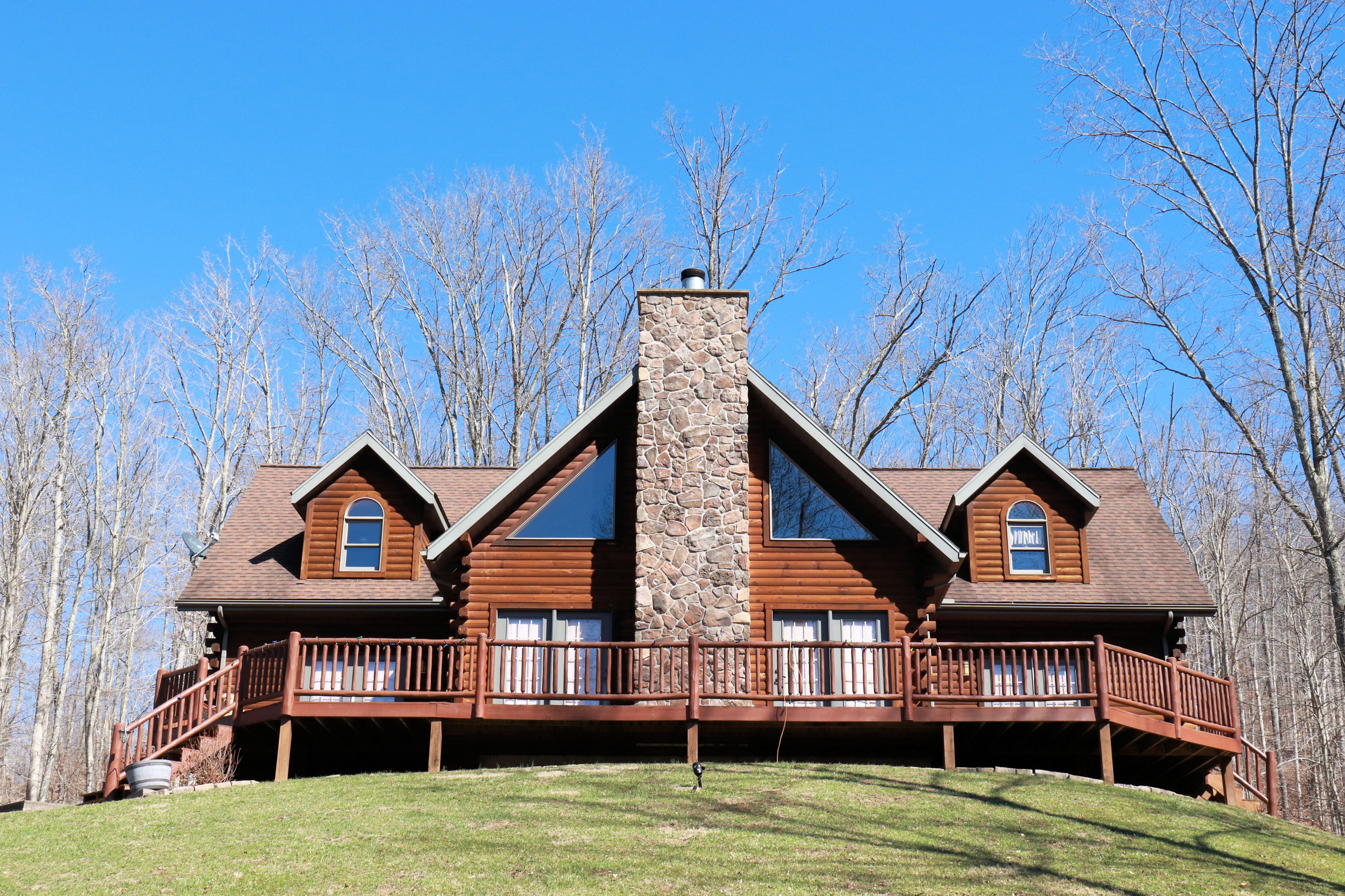 Mountain Laurel – Mountain State Log Homes