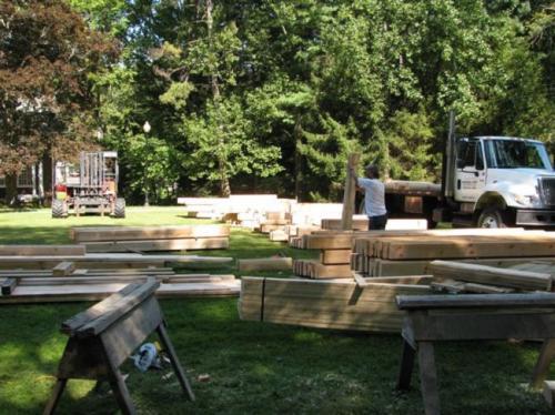 Jackson's Mill Jubilee Cabin Build